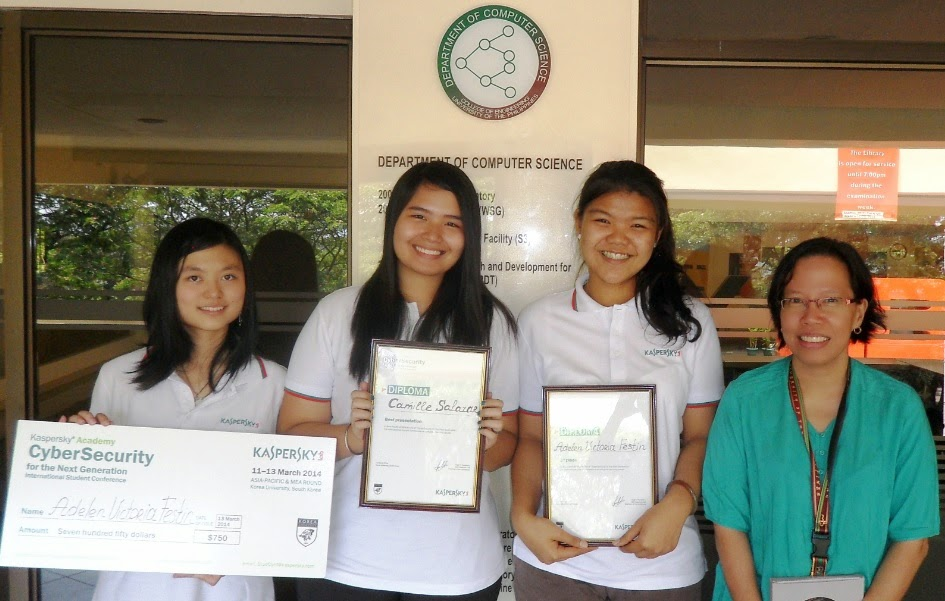 UP students reach world finals