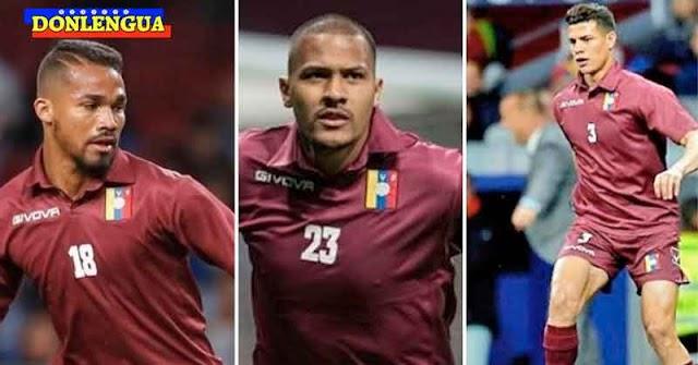 Los 3 menos peores de La Vinotinto no participarán en las eliminatorias del mundial