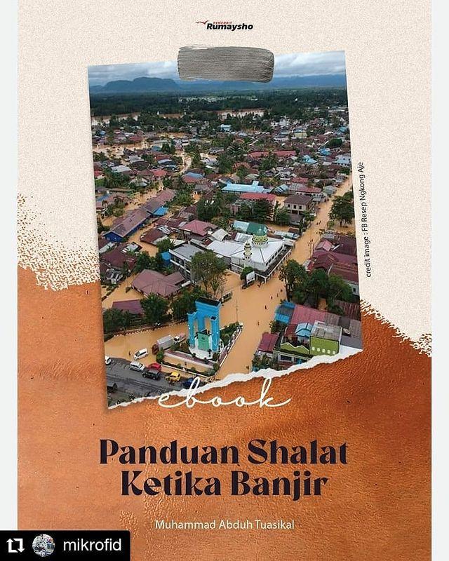 Review Buku : Panduan Shalat Ketika Banjir