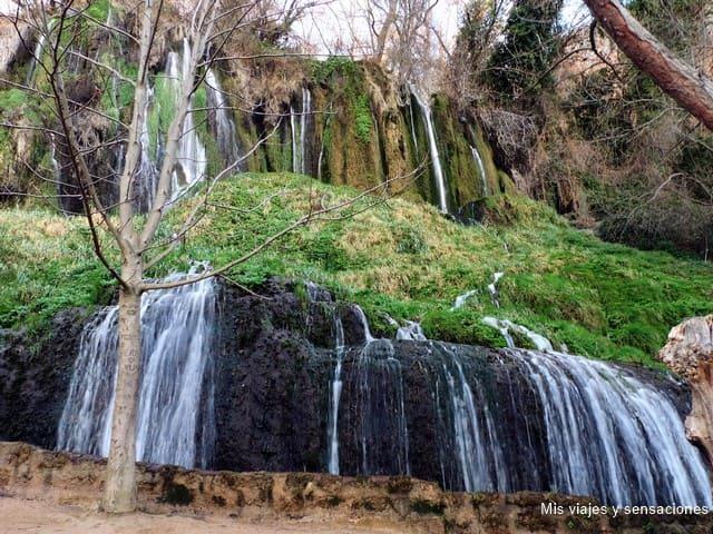 Cascada los chorreaderos, Monasterio de Piedra, Nuévalos (Zaragoza)