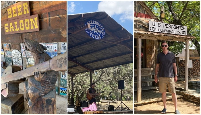 Luckenbach, Texas...just a 10 minute drive from Fredericksburg