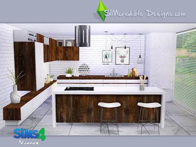 Кухня — наборы мебели и декора для Sims 4 со ссылками для скачивания