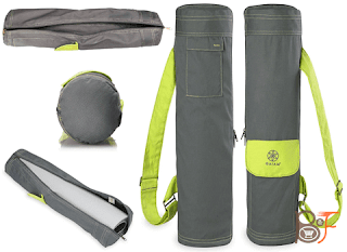 Gaiam Full-Zip Cargo Pocket Is Your Perfect Yoga Mat Bags
