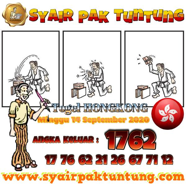 Syair HK Senin 14 September 2020 -