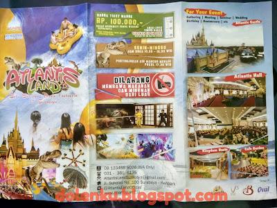 Atlantis Land Surabaya, Lokasi & Harga Tiket Terbaru