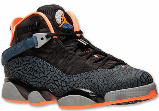 2b2b8d00ba8acc ... ireland known as the bobcats edition this jordan 6 rings comes in a black  atomic orange