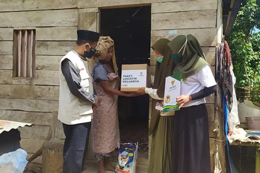 Balai Ternak Baznas Maros Distribusikan Paket Logistik Berkah Ramadan