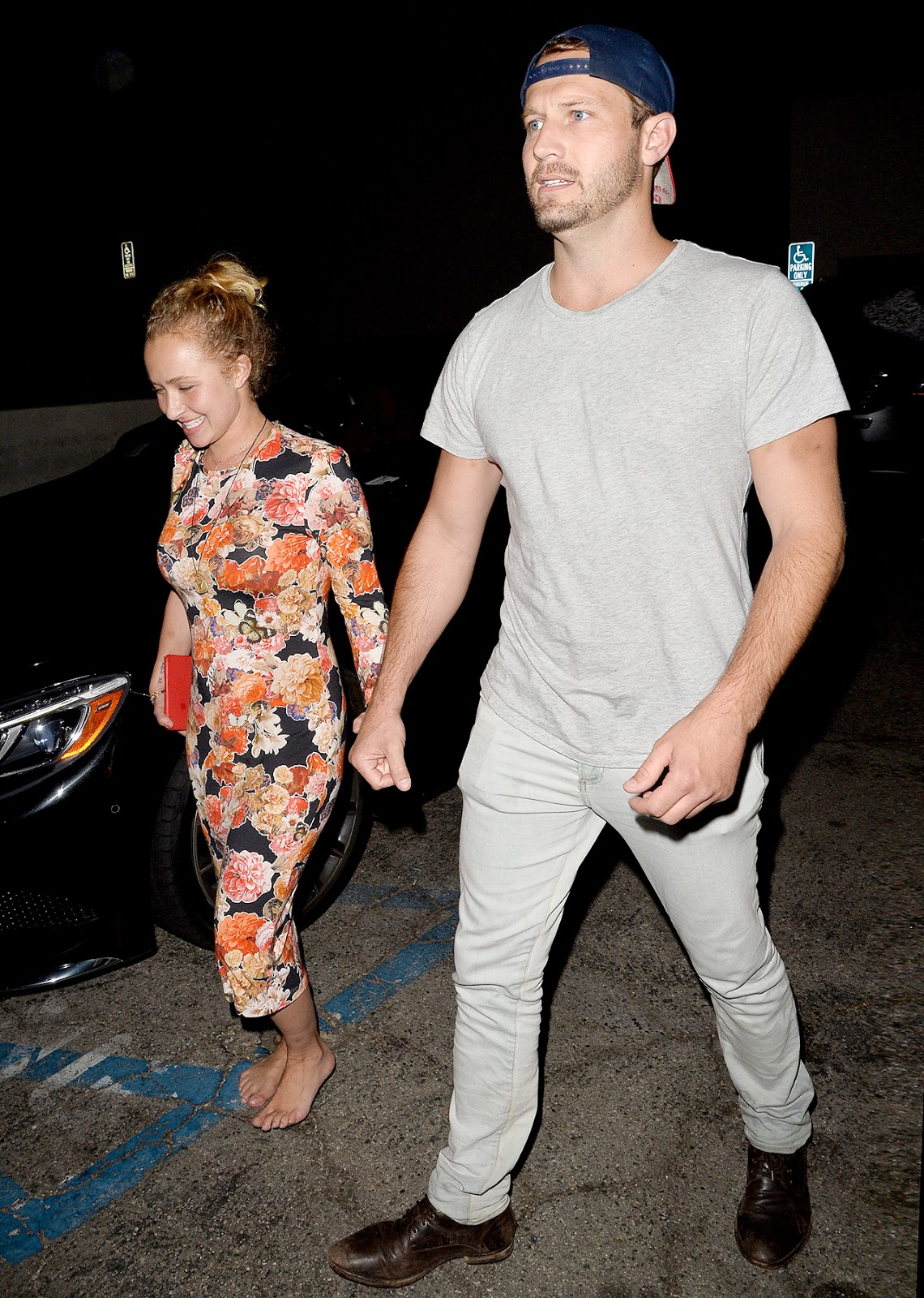 Hayden Panettieres Boyfriend Arrested for Domestic