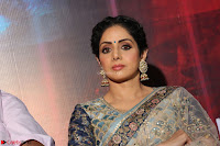 Sri Devi in designer saree stunning beauty at the launch of MOM movie Trailer~  Exclusive 101.JPG