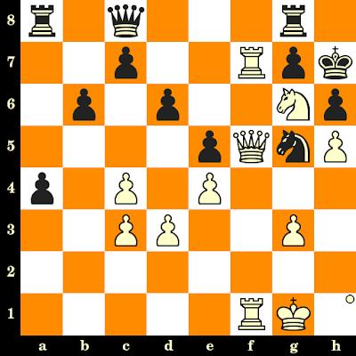 Les Blancs jouent et matent en 3 coups - Ehsan Ghaem Maghami vs Shamsiddin Vokhidov, Saint-Pétersbourg, 2018