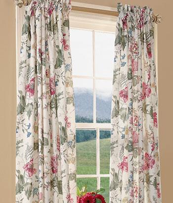 Modern Furniture Lined Curtains Design Ideas 2012