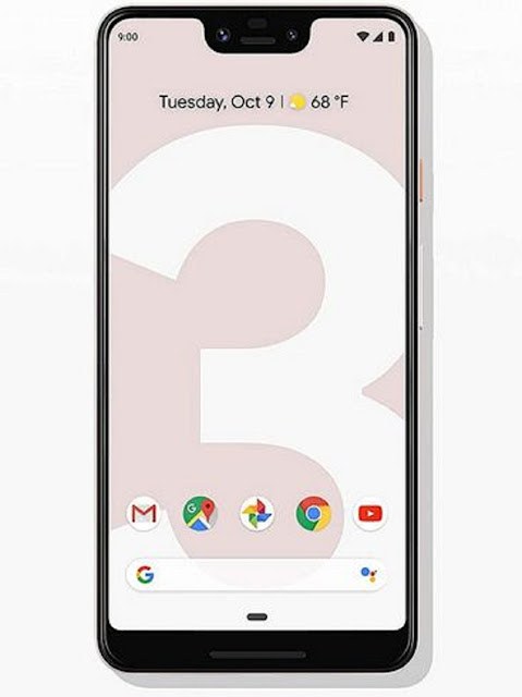 Google Pixel 3 xl review display, speakers, and included USB-C earbuds