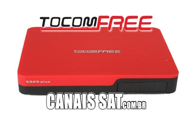 Tocomfree S929 Plus Nova Atualização Modificada - 27/02/2020