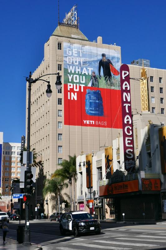 Giant Yeti Bags billboard