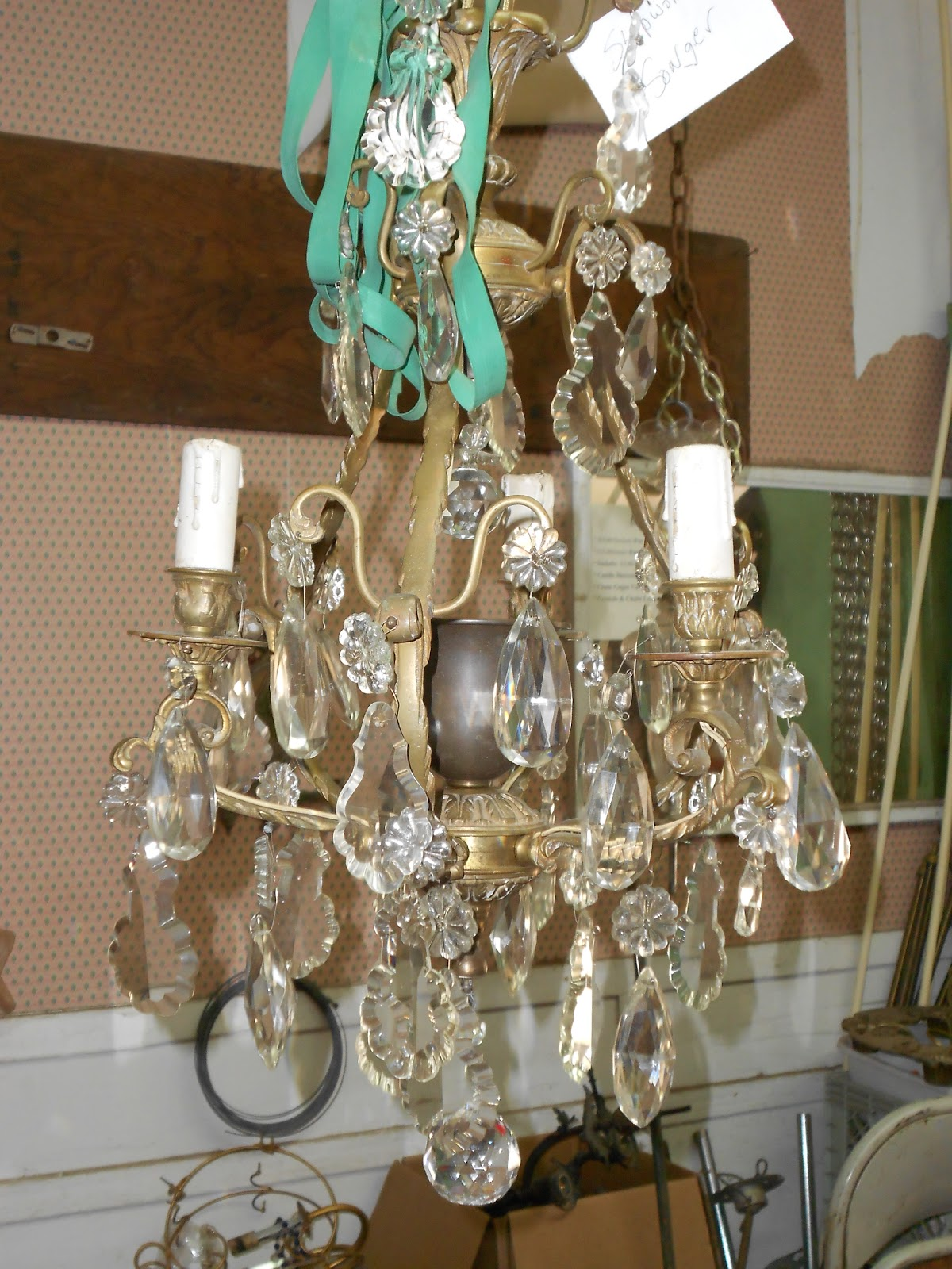 Smallest Of The Two French Chandeliers Needs To Be Rewired And Cleaned