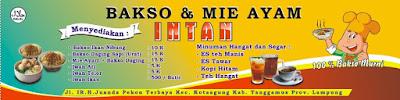 Banner bakso