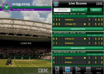 Wimbledon App for Android & iPhone