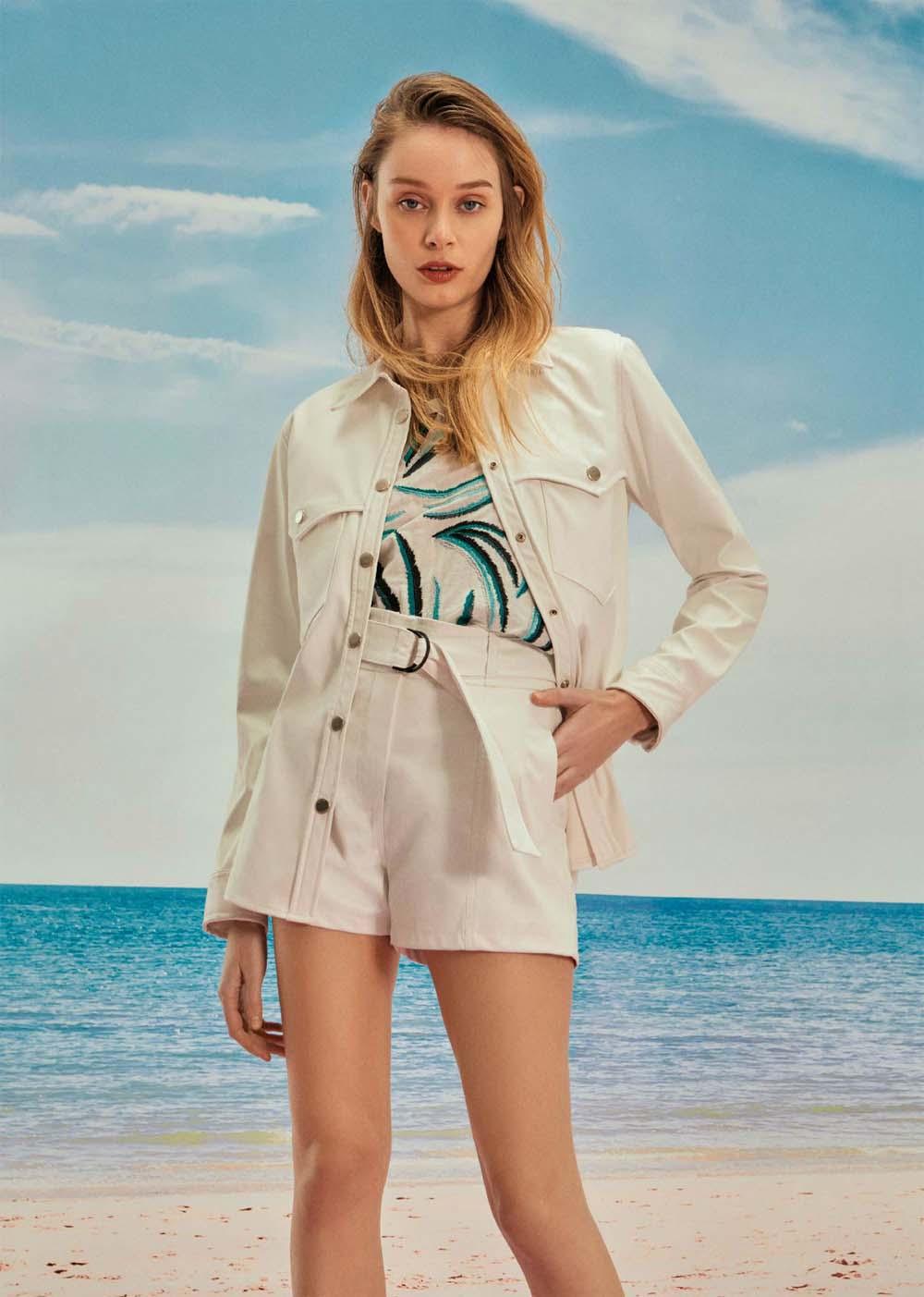Campera de jean primavera verano 2021 moda mujer
