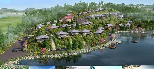 Phối cảnh Ohara Villa&Resort