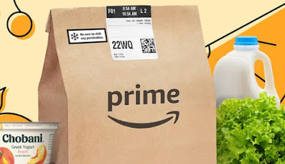 Amazon attracts warehouse workers to work in grocery stores