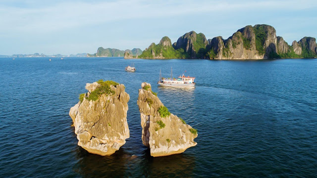 Ha Long Bay, Cat Ba - Nature Masterpiece Seen From The Sky 7