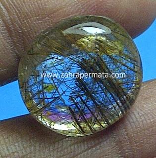 Batu Permata Rutile Quartz - ZP 458