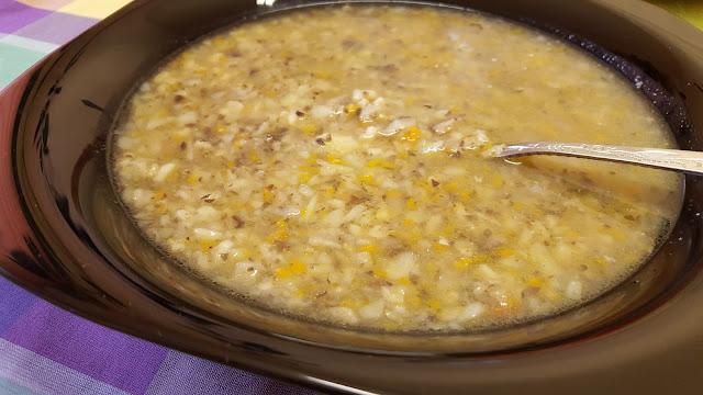 Гъбена супа - Аламинутка
