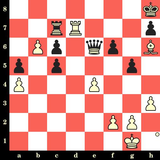 Les Blancs jouent et matent en 4 coups - Magnus Carlsen vs André Diamant, Halkidiki, 2003