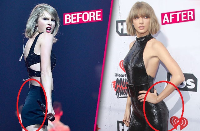 They Are Saying Now That Taylor Swift Got A Butt Implant Pic On The Left Was Taken Some Years Back While The One On The Right Was Taken Last Month
