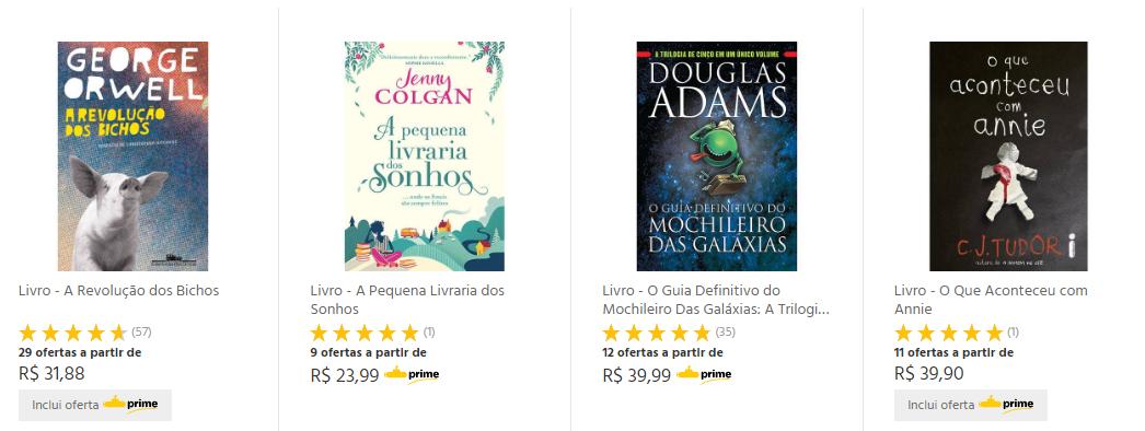 Ganhe  20% OFF na compra de livros + 20% de Cashback no Submarino!