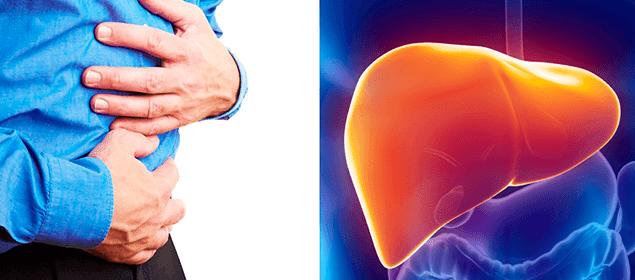 síntomas de un hígado con toxinas