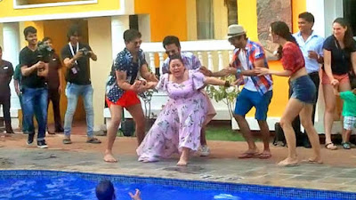 bharti-singhs-pool-party