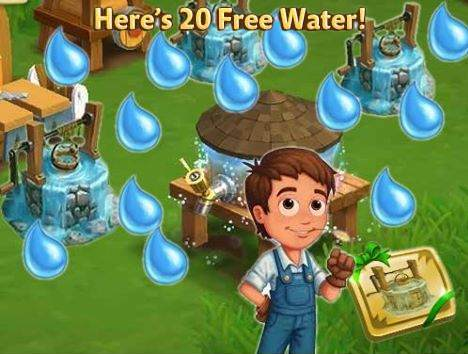 Farmville 2 : Collect Your Free 3x +20 Water! - Games Media