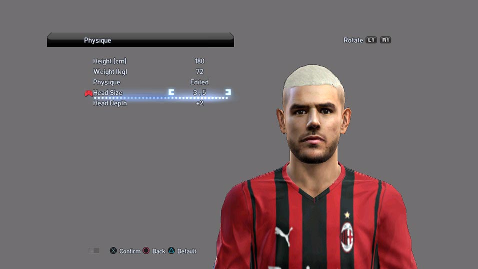 Faces Theo Hernandez For PES 2013