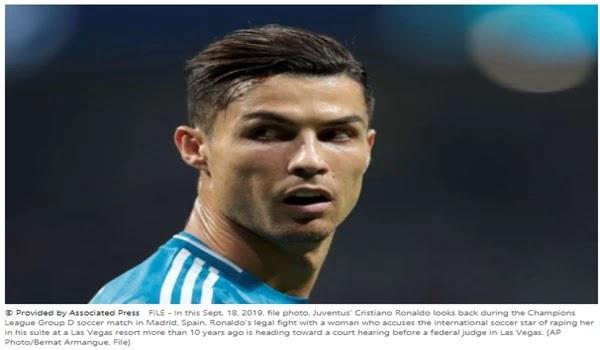 US judge points to Ronaldo's rape trial in Las Vegas