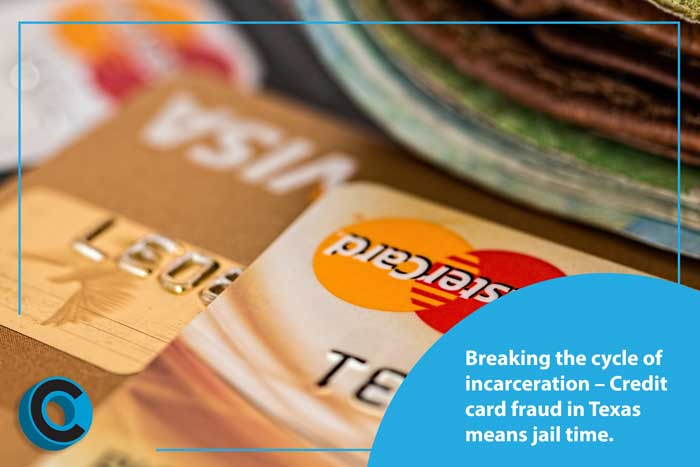 avoid jail time in Texas credit card fraud