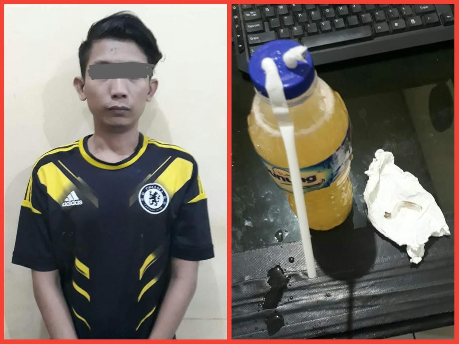 Satresnarkoba Polres Cilegon Berhasil Amankan Pelaku Penyalahgunaan Narkoba Jenis Shabu