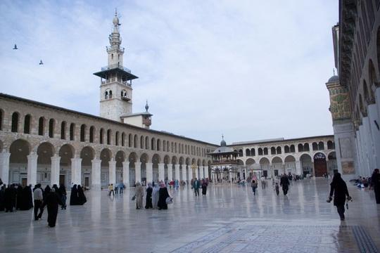 masjid jami bani umayyah di damaskus