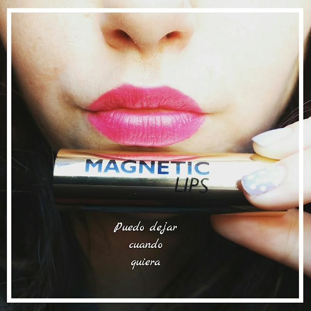 Magnetic lips hot pink