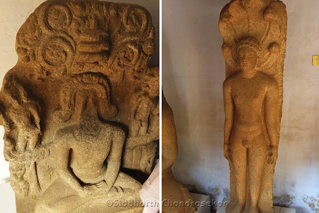 Pudukottai Museum Jain Sculptures