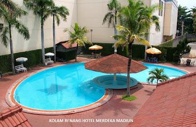 kolam renang hotel merdeka madiun