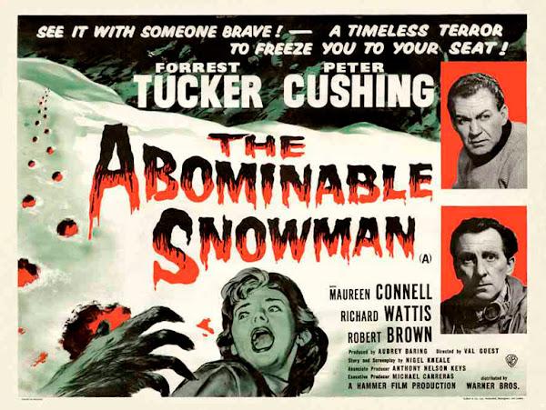El abominable hombre de las nieves - Descargar Cartel