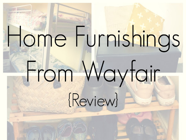 {AD/Review} Home Furnishings From Wayfair