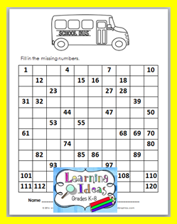 http://learningideasgradesk-8.blogspot.com/2016/08/free-back-to-school-math-printables.html