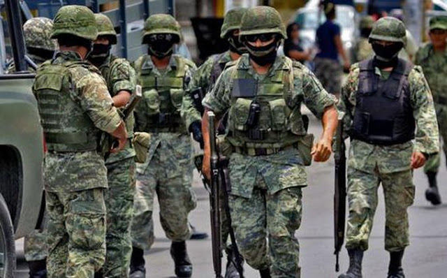Envían a 100 Soldados a San Fernando; Tamaulipas tras Narcobloqueos