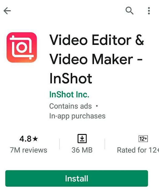 InShot App किस  देश का है