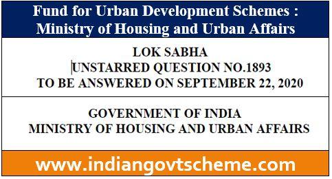 Urban Development Schemes