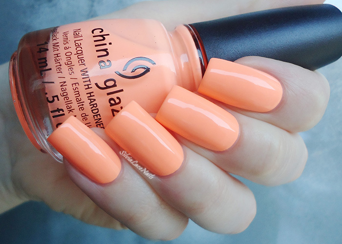 China Glaze - Sun Of A Peach: swatches and review