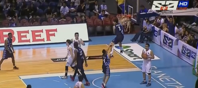 Adamson rookie Sean Manganti Throws Down the MONSTER Two Hand Slam (VIDEO)