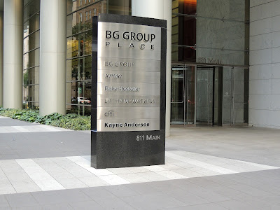 BG GROUP  PLACE 811 MAIN ENTRANCE